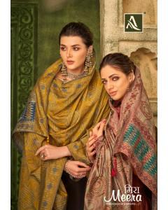 bundle of 8 dress material Meera by alok