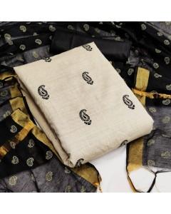 jumble of 4 dress material  TCNX Khadi Cotton 2