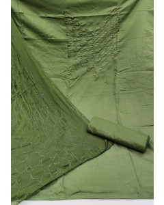 jumble of 4 dress material  TCNX Slub Cotton 3
