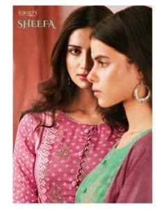 bundal of 8 wholesale salwar kameez catalogue sheefa by karachi cotton