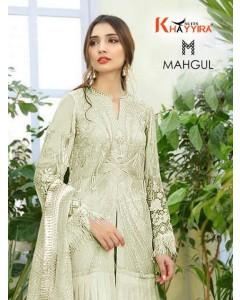 bundal of 5 wholesale salwar kameez catalogue mahgul by khayyira suit