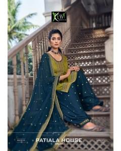 bundle of 8 dress material Patiala House 84 by kessi