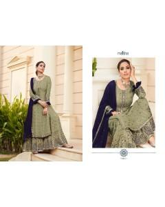 bundal of 7 wholesale salwar kameez catalogue maisha super hit design