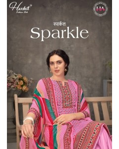 bundle of 10 dress material Sparkle  by harshit
