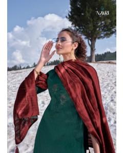 bundal of 6 wholesale salwar kameez catalogue awadhi vol 2 by naari