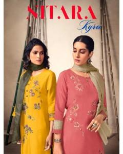 Bundle of 6 wholesale Salwar Suit Catalogue Kyra by Nitara