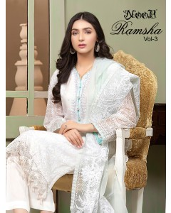 Bundle of 3 wholesale Salwar Suit Catalogue Ramsha Vol 3 by Noor