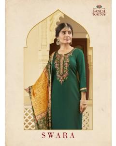 Bundle of 5 wholesale Salwar Suit Catalogue Swara by Panch Ratna
