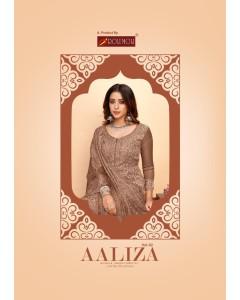 Bundle of 8 wholesale salwar suits Catalog AALIZA by ROLI MOLI