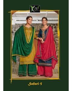 bundle of 8 dress material Safari 5 by  Kessi