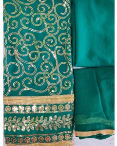 jumble of 6 dress material TCDS Georgette 2