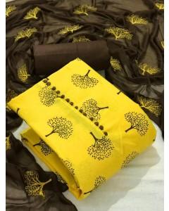 jumble of 4 dress material TCVV Slub Cotton 3