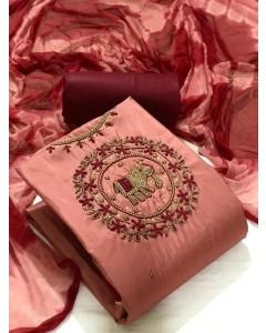 jumble of 4 dress material TCNX Handwork 1