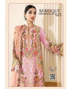 bundal of 5 wholesale salwar kameez catalogue baroque vol 2 by shree fabs