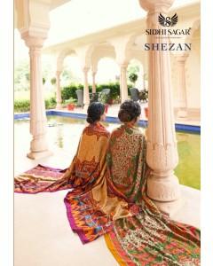 Bundle of 8 wholesale salwar suit Catalog SHEZAN by Siddhi Sagar