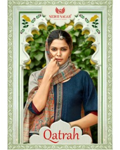 Bundle of  8 wholesale Salwar Suit Catalogue Qatrah by Siddhi Sagar