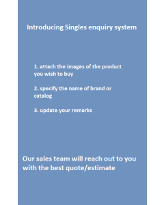 Singles Product Enquiry