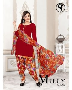 Bundle of 12 wholesale salwar suits Catalog MILLY VOL  39 by SWEETY FASHION