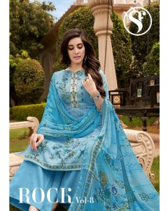 Bundle of 8 wholesale salwar suit Cataog ROCK VOL 8  by SWEETY FASHION