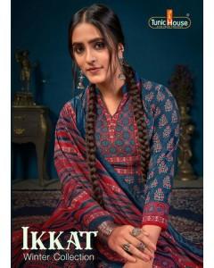 Bundle of 6 wholesale salwar suit Catalog IKKATT by Tunic House