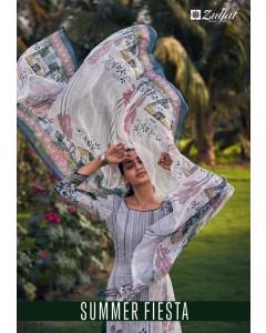 bundle of  10 dress material Summer Fiesta 2 by zulfat