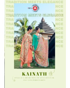 bundle of 6 dress material   A Kainath by Triple