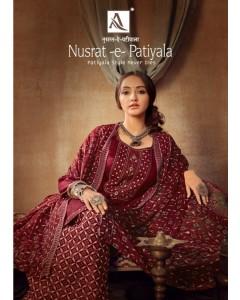 bundle of 10 dress material  Nusrat-E-Patiyala 7 by alok
