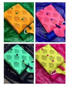 jumble of 4 dress material TCVV Slub Cotton 7