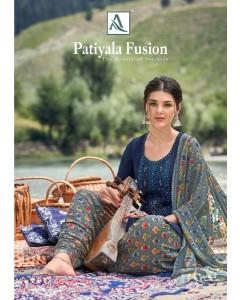 bundle of 10 salwar suit Patiyala Fusion by Alok