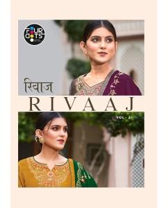 bundle of 4 salwar suit Rivaaj 2 by Four Dots