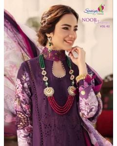 bundle of 5 pakistani salwar Noor Chikankari 2 by Saniya