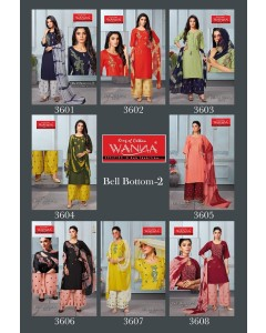 bundle of 8 readyamde suit Bell Bottom 2 by Wanna