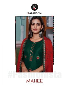 bundle of 4 kurti with duptta Mahee by Kalarang