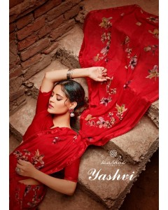 BUNDLE OF 10 WHOLESALE SAREE CATALOG       YASHVI   BY KASHVI CREATION