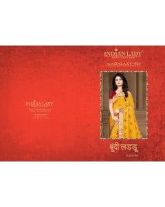 BUNDLE OF 8 WHOLESALE SAREE CATALOG Boondi Laddu 2 BY INDIAN WOMAN