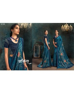 BUNDLE OF 13 WHOESALE SAREE CATALOG SERIES - 21100 series BY MOH-MANTHAN