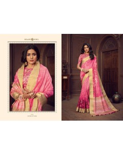 BUNDLE OF 6 WHOLESALE SAREE CATALOG Series - 1425 to 1430  BY  Heart & soul