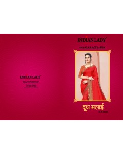 BUNDLE OF 8  WHOLESALE SAREE CATALOG  Dudhmalai-3  BY INDIAN WOMAN