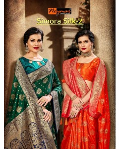 BUNDLE OF 6  WHOLESALE SAREE CATALOG Simora Silk-2 BY NEYMAR