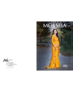 BUNDLE OF 11  WHOLESALE SAREE CATALOG .Moksha  BY BELA