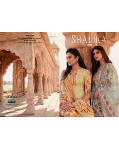 BUNDLE OF 8  WHOLESALE  SALWAR SUIT CATALOG  Shalika vol :- 69
