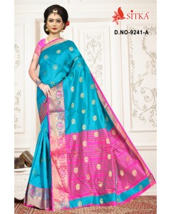 BUNDLE OF 6 WHOLESALE SAREE CATALOG HIRAL-9241- BY SITKA