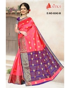 BUNDLE OF 6 WHOLESALE SAREE CATALOG HIRAL-9242- BY SITKA