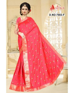 BUNDLE OF 10 WHOLESALE SAREE CATALOG WALKWAY-7003 BY SITKA