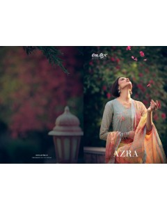 BUNDLE OF 9  WHOLESALE SALWAR SUIT CATALOG AZRA BY OM TEX