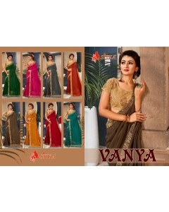 BUNDLE OF 8  WHOLESALE SAREE CATALOG  VANYA BY SITKA