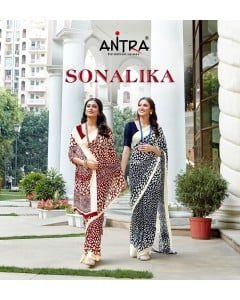 BUNDLE OF 10  WHOLESALE SAREE CATALOG SONALIKA VOL 1 BY ANTRA