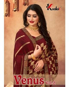 BUNDLE OF  8 WHOLESALE SAREE CATALOG VENUS-2 BY KODAS