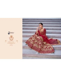 BUNDLE OF 3 WHOLESALE LEHENGA CHOLI CATALOG D.NO-2003
