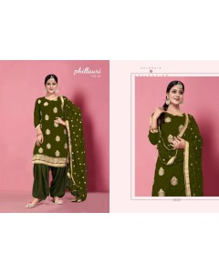 BUNDLE OF 4 WHOLESALE SALWAR SUIT CATALOG Phillauri-26 BY KESARI EXPORTS